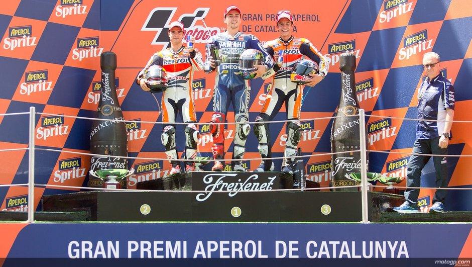 MotoGP - GP de Catalunya : Domination des Espagnols