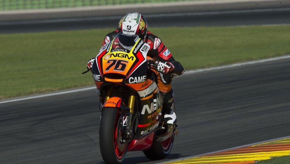 MotoGP 2015 - Essais Valence : Débuts prometteurs pour Loris Baz