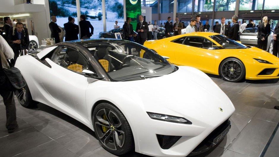 Mondial de l'Auto 2010 : voici la Lotus Elise de 2015 !