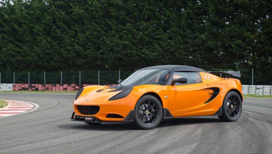 Lotus lève le voile sur la Elise Race 250 destinée à la piste