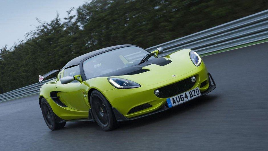Lotus Elise S Cup 2015 : la sportive homologuée pour la route enfin disponible !