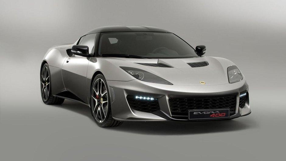 Lotus Evora 400 2015 : Gueule de supercar et plus de puissance !