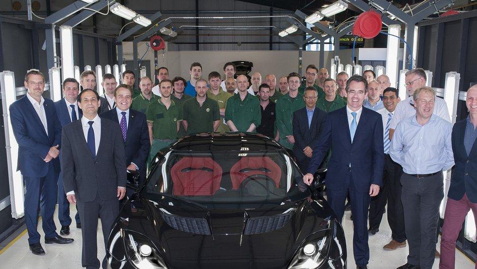 Lotus Evora 400 - Le premier modèle produit