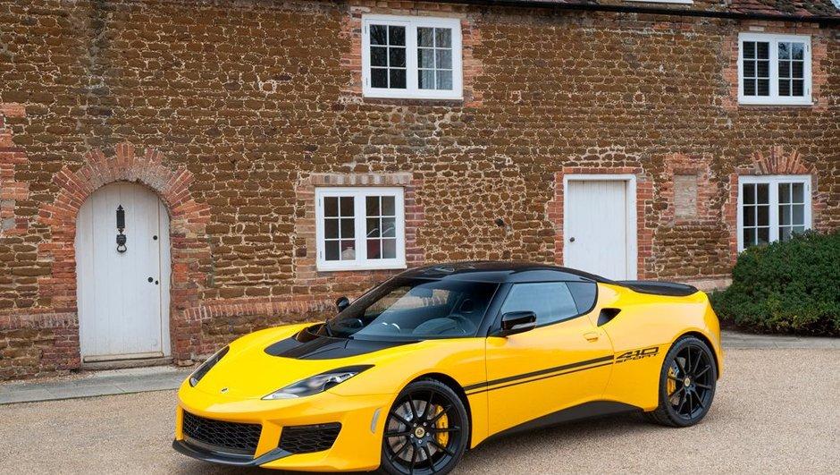 Lotus Evora Sport 410 : encore plus légère et plus rapide ?