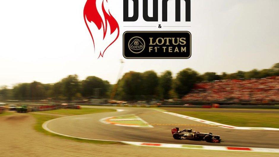 F1 : Coca-Cola débarque avec Burn chez Lotus