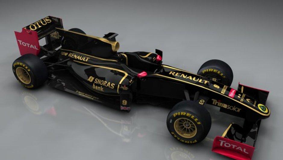 Renault F1 Team devient Lotus Renault GP