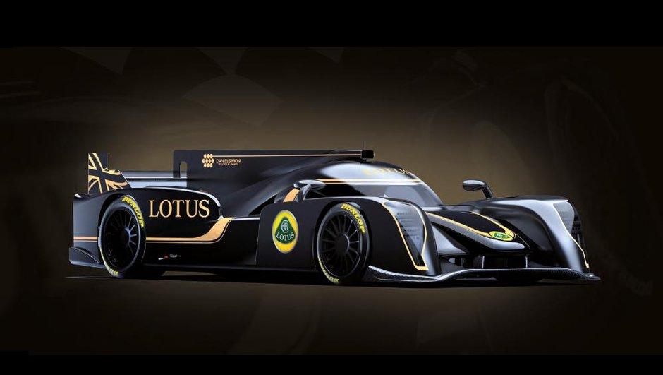 WEC 2013 - LMP2 : voici la nouvelle Lotus T128 !