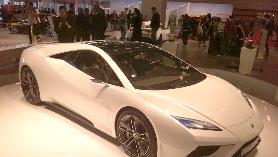Mondial de l'Auto 2010 : Lotus Esprit, nouvelle génération pour 2013