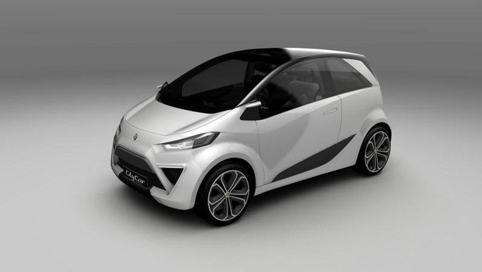 Feu vert pour la Lotus City Car Concept