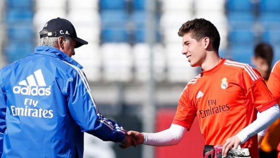 Luca Zidane monte au Real et chez les Bleus