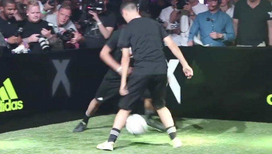 Vidéo insolite : Luca Zidane humilie Ander Herrera d'un petit-pont ravageur