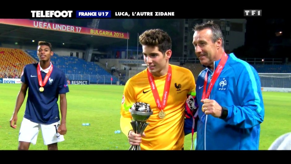 "France U17 : Luca Zidane, ""l'antithèse d'Iker Casillas"""