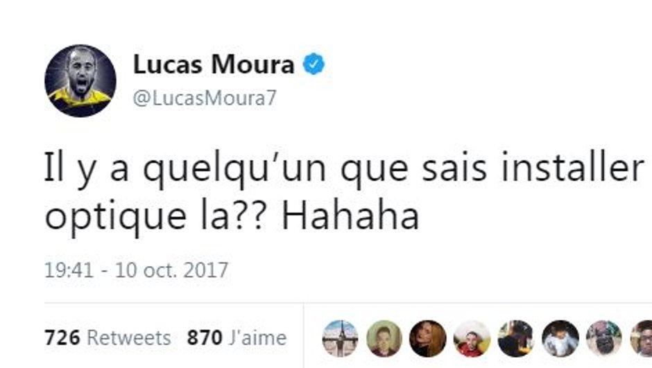 Insolite / Buzz - PSG : Privé de fibre, Lucas appelle Twitter à l'aide
