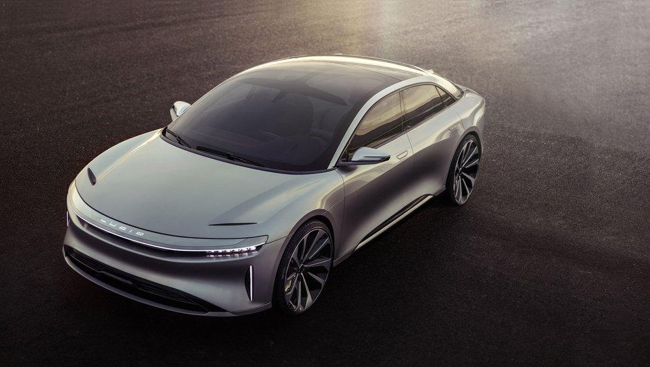 Lucid Motors Air : la berline électrique qui promet 645 km d'autonomie pour 2018