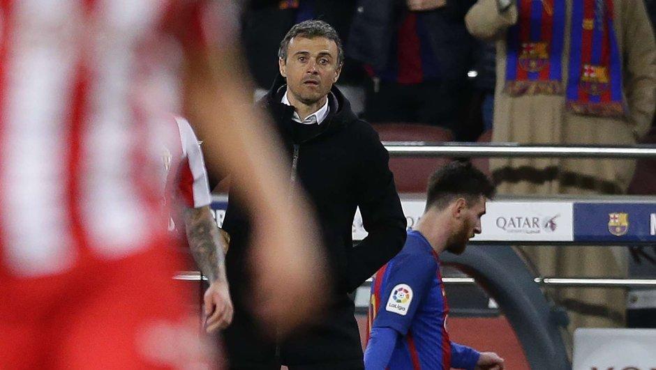 FC Barcelone : Luis Enrique revient sur Messi et recadre Mathieu