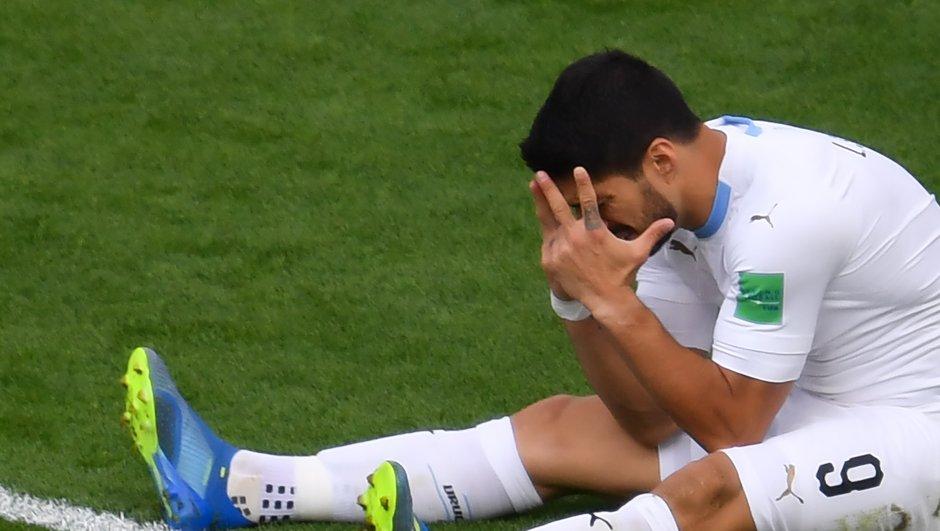 """""""Qu'est-ce qui t'arrive, Luis ?"""", la presse uruguayenne inquiète après  l'inefficacité de Suarez"""