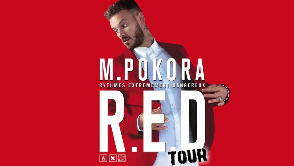 M Pokora est de retour sur scène en 2015 pour le R.E.D. Tour !