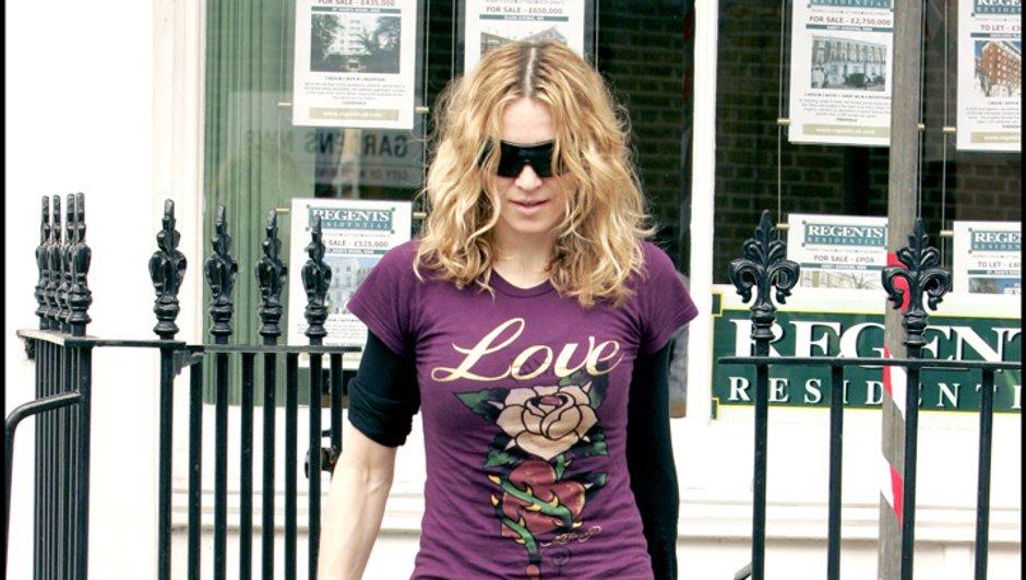 Exit la limousine, Madonna se déplace... en métro !