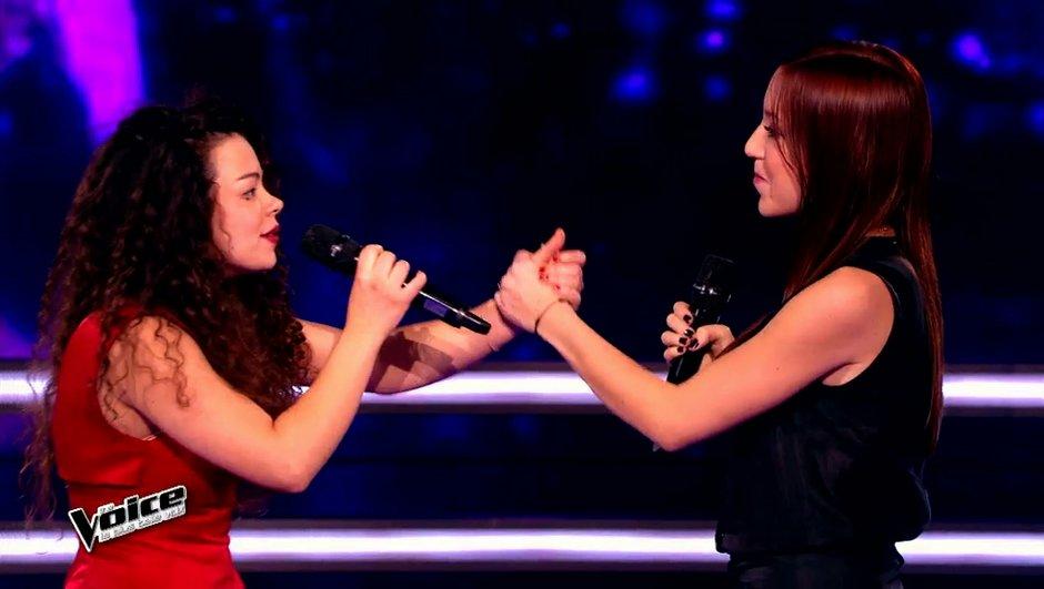The Voice 4 - Les battles : Léa Tchéna préférée à M'aile