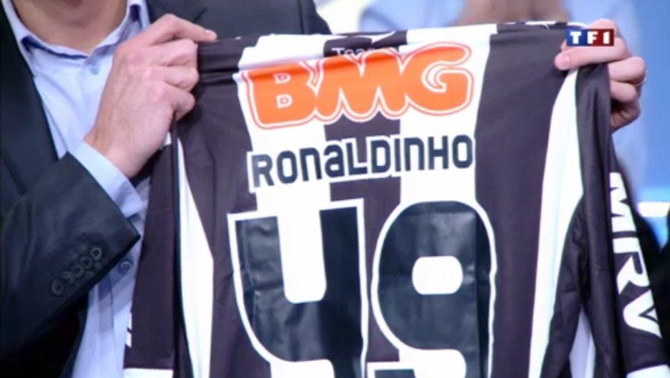 Grand jeu Téléfoot : Gagnez le maillot de Ronaldinho !