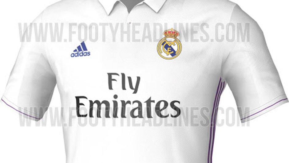 Real Madrid : Le maillot domicile saison 2015-2016 aurait fuité