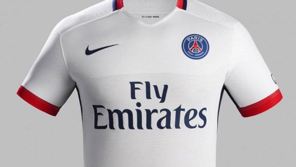 PSG : Le club dévoile le maillot extérieur de la saison 2015-2016