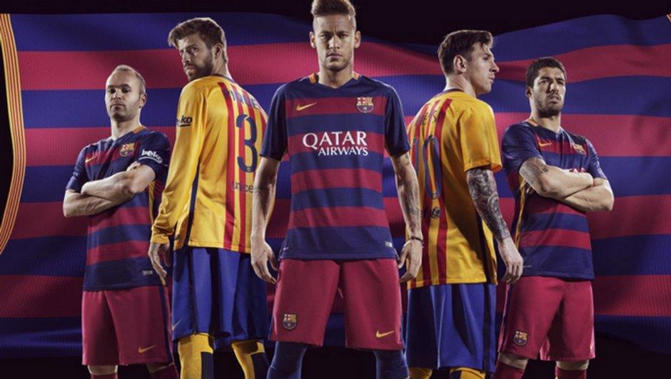 FC Barcelone : voici les maillots de la saison 2015/2016