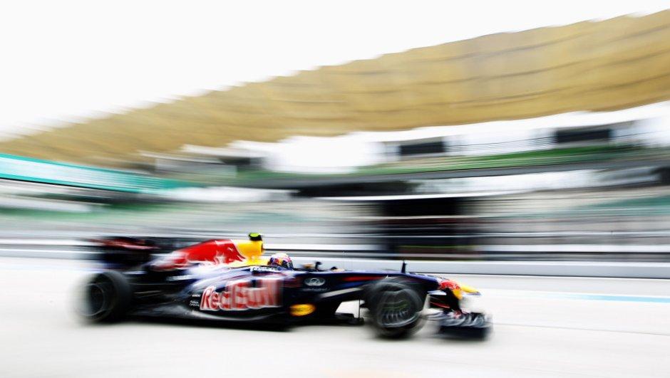 F1 GP de Malaisie 2011 : Webber maître des essais libres