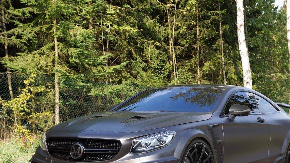 Mansory révèle une Mercedes-AMG S63 Coupé de 1.000 chevaux