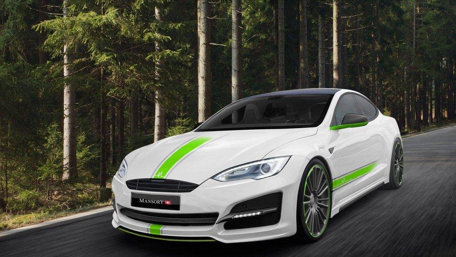 Mansory offre un nouveau kit de carrosserie à la Tesla Model S!