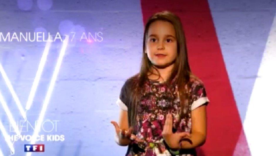 Manuela, 7 ans, un nouveau talent à découvrir !