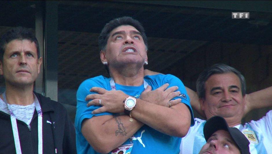 Pas de panique, Diego Maradona va bien