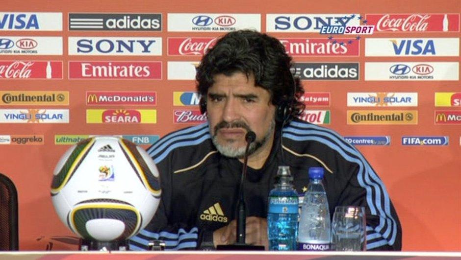 Coupe du monde : la déprime de Diego Maradona