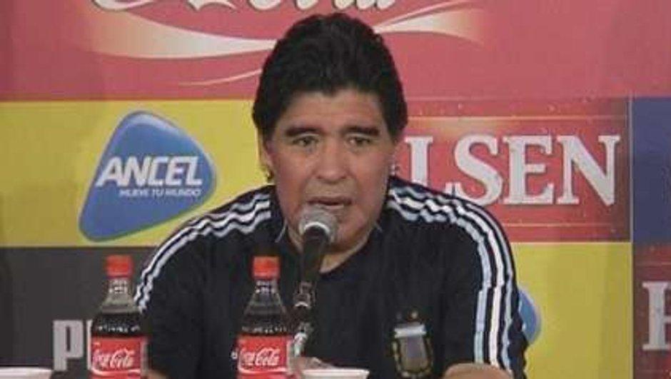 Cristiano Ronaldo bientôt entrainé par Maradona ?