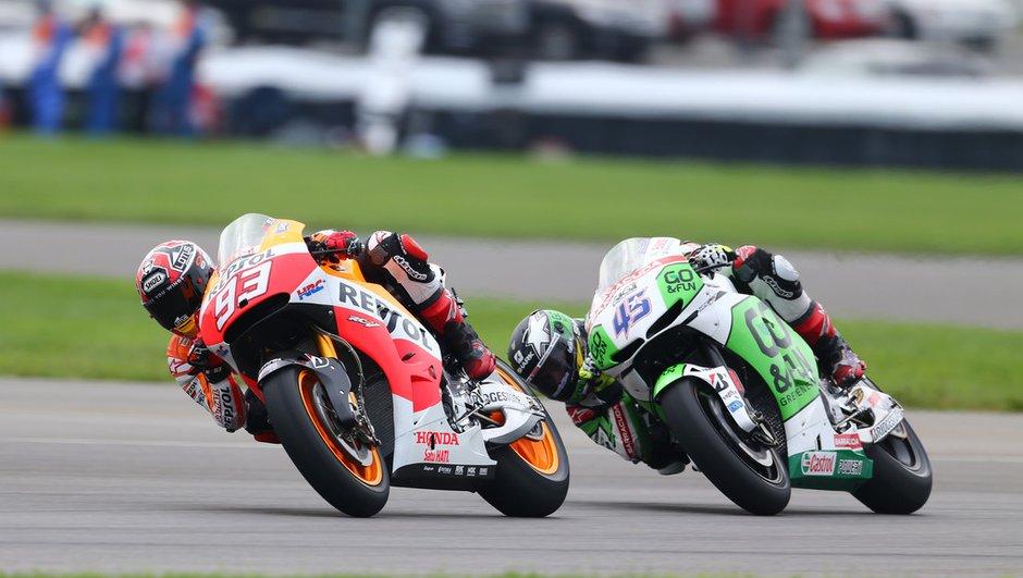 MotoGP - Indianapolis 2014 : Le Warm-up pour Marquez