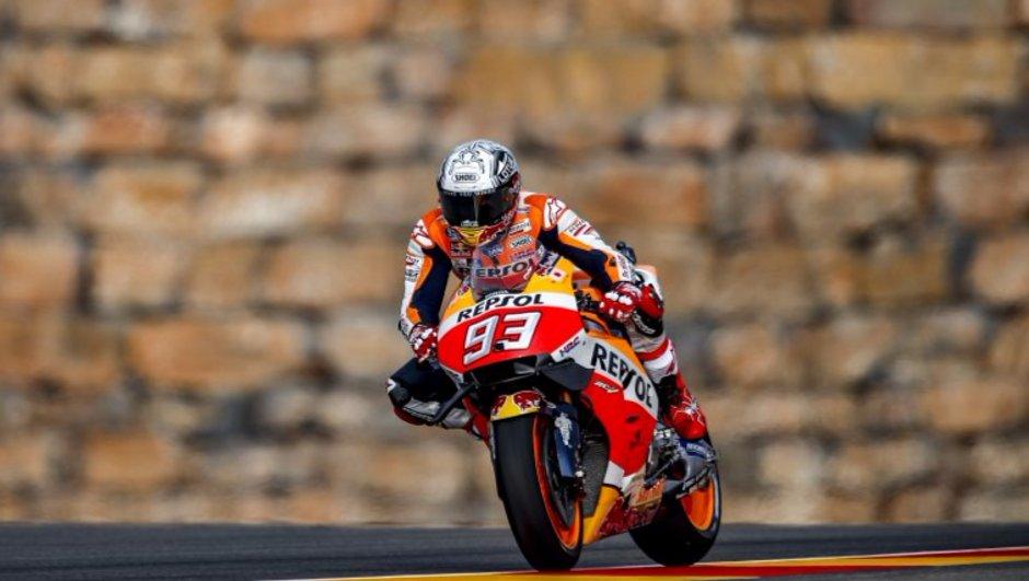 MotoGP - Grand Prix d'Aragon 2016 : Marquez a pulvérisé le chrono pour la pole !