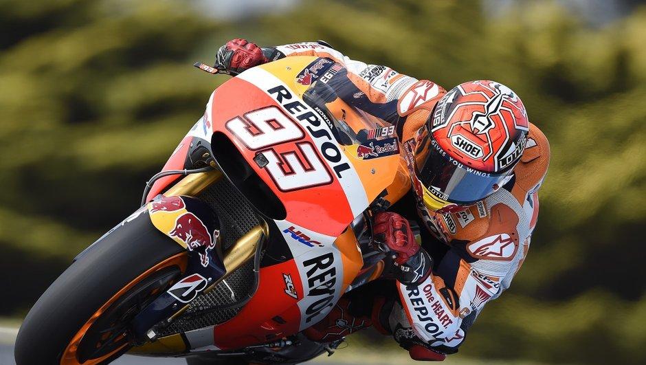 MotoGP Australie 2015 : Marc Marquez domine les essais de vendredi