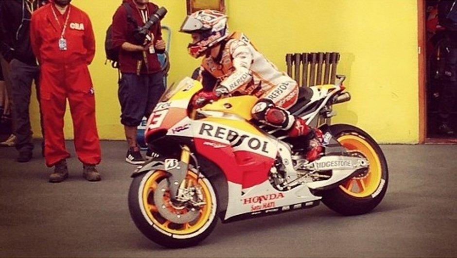 MotoGP 2014 - Essais 1 Italie : Marquez repousse les assauts italiens