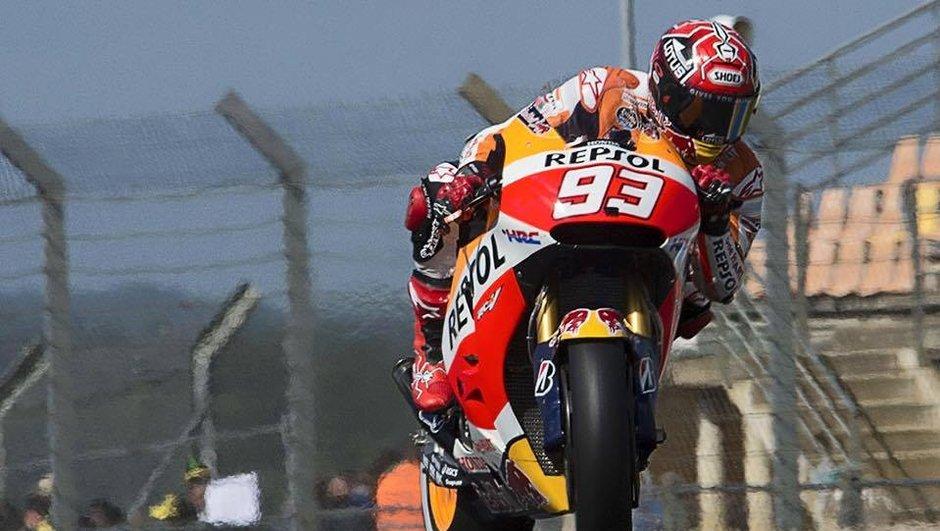 MotoGP France 2015 : Marquez décroche la pole position en patron !