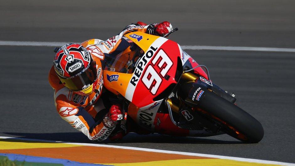 MotoGP Valencia 2013 : avantage Marquez aux essais