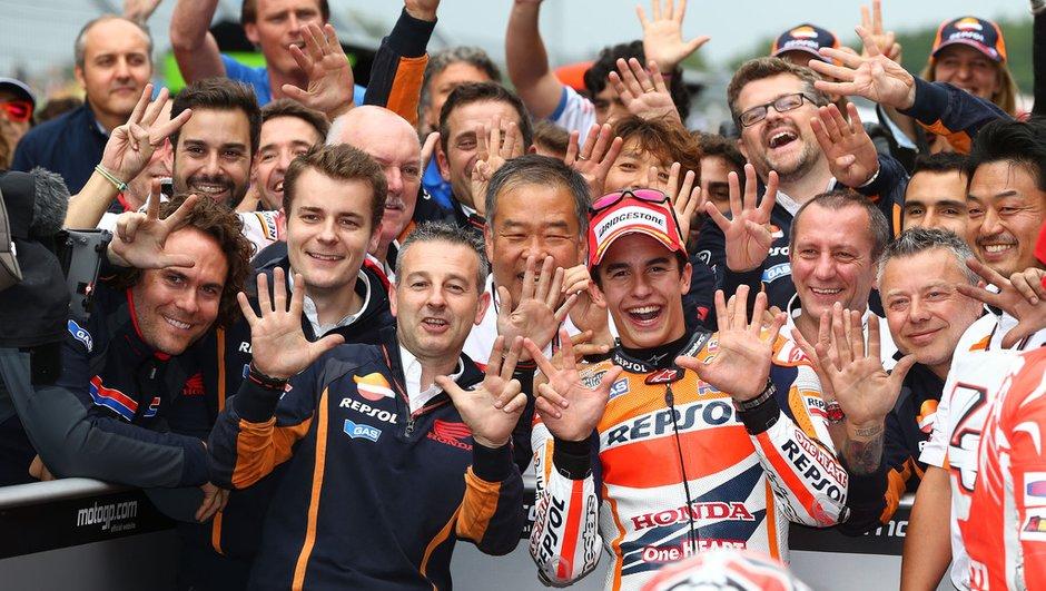 """MotoGP - Assen 2014 : """"Une dure journée"""" selon Marquez"""