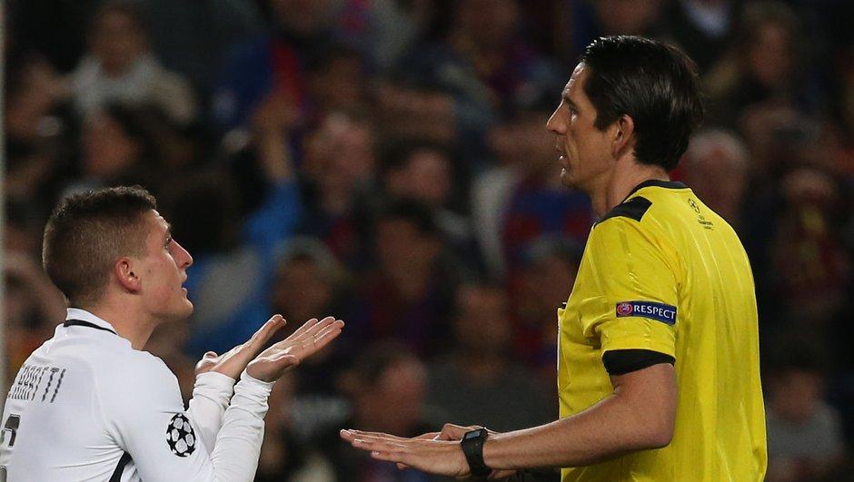 """PSG : l'arbitre de Barca-PSG a bien été """"sanctionné"""""""