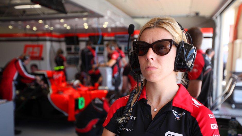 F1 : Maria de Villota a perdu son oeil droit