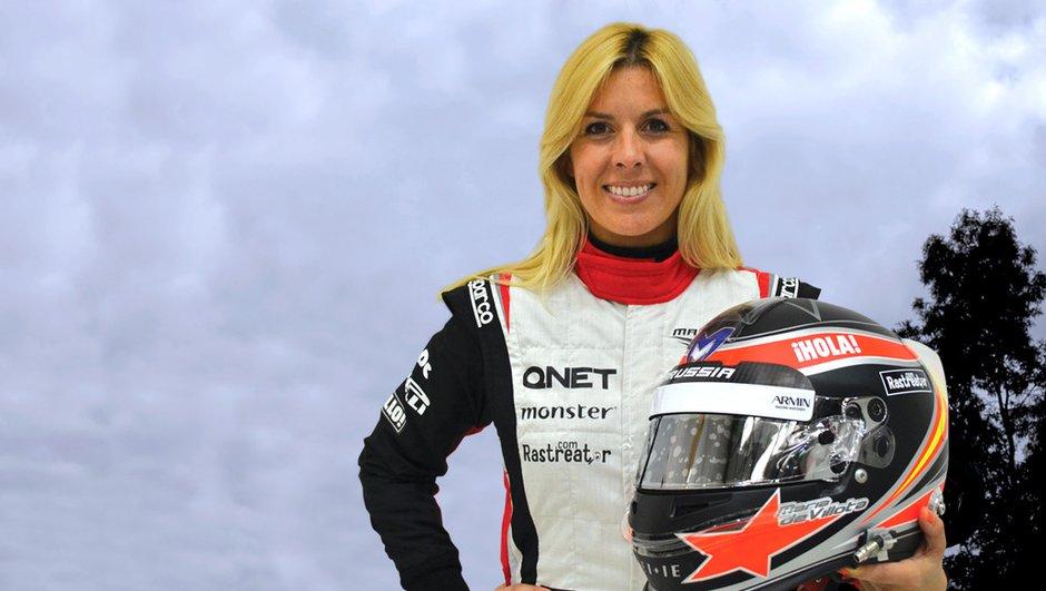 F1 : la pilote d'essais Maria de Villota grièvement blessée
