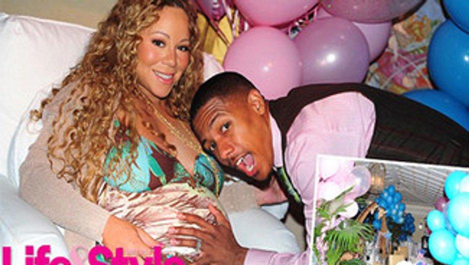 Mariah Carey poste la première photo de sa fille