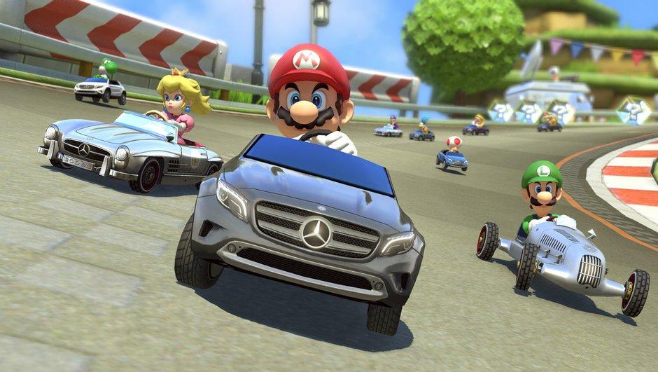 Mario Kart 8 : Nintendo invite trois Mercedes-Benz dans son jeu vidéo !