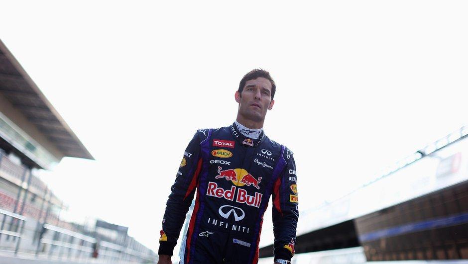 F1 : Mark Webber remercié pour son travail chez Red Bull