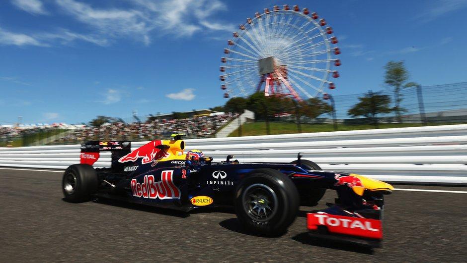 F1 - GP Japon : la grille de départ