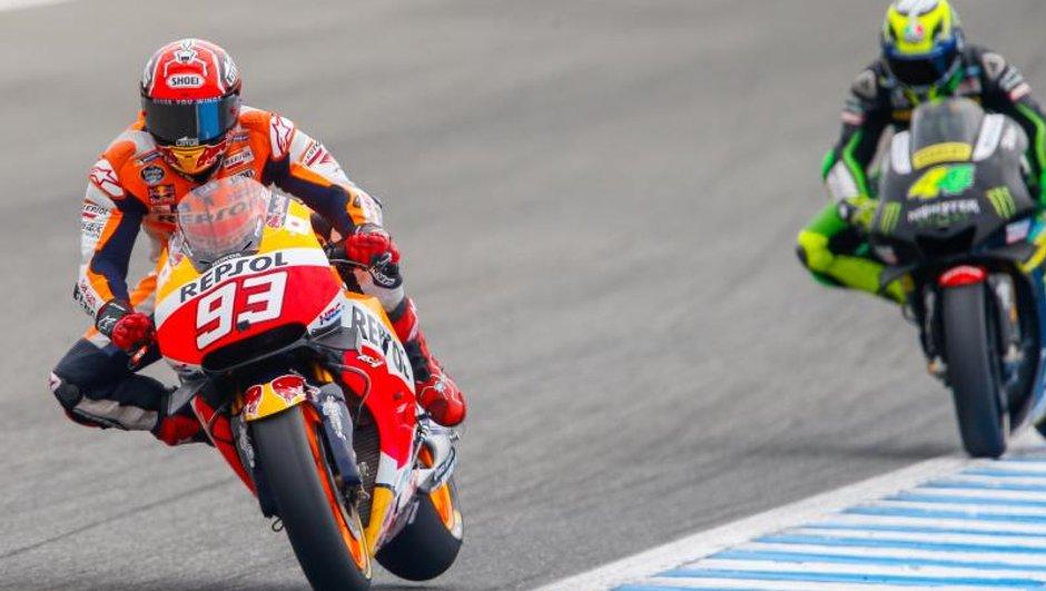 MotoGP - Espagne 2016 : Marquez met la pression au warm-up