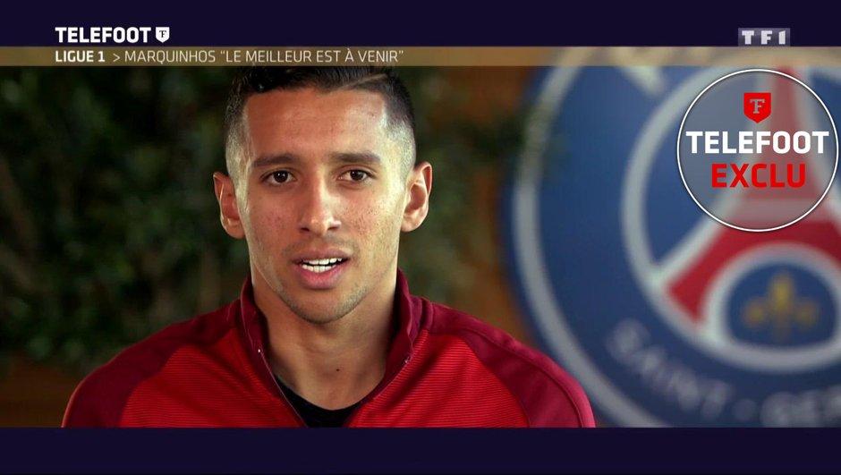 """[Exclu Téléfoot 11/12] - Le PSG a proposé une offre de prolongation à Marquinhos, qui veut """"rester à Paris"""""""